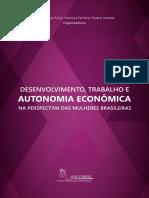 Desenvolvimento, Trabalho e Autonomia Economica - VERSÃO WEB II