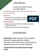 1. Elektrolisis