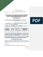 Convocatoria LO-009000967-E2-2018