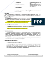 SGST PR 4.3.3 Objetivos y Programas