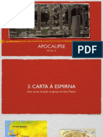 3. Estudo Apocalipse - Carta à Esmirna (Ap 2