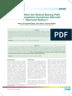 24_227Analisis–Peranan Allicin Dari Ekstrak Bawang Putih Sebagai Pengobatan Komplemen Alternatif Hipertensi Stadium I