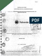 Contrato IIRSA tramo I