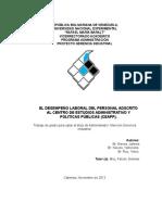 Tesis Del Desempeno Laboral 2013 1