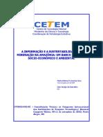 A Informação e a Sustentabilidade Da Mineração Na Amazonia...