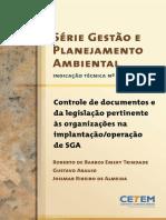 Controle de Documentos Da Legislação Pertinente Ás Organizações Na ..