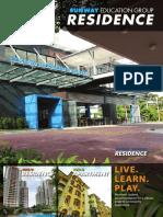 Sunway Education Residence Brochure