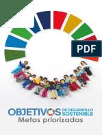 Metas Priorizadas ODS Compromiso Nacional de Guatemala