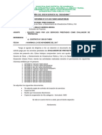 Informe Nº 00
