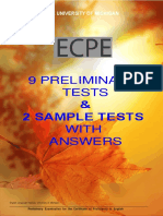 1ecpe 9 Preliminary Tests 2 Sample Tests With Answers