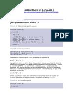 La Función Fflush en Lenguaje C vs Scanf