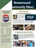 Streamwood Community News, March 2018
