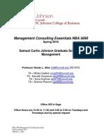 *Management Consulting Essentials Syllabus Spring 2018 Final(1)