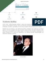 Biografia de Norberto Bobbio