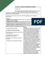 """Formato Para Análisis Caso """"Cadena de Suministro de Darden"""""""