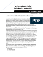 Cross-border Services and Cost Sharing Payments in Latin America, Diciembre 2000