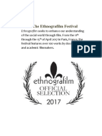 Ethnografilm Web Program Rev. 12 April 2017