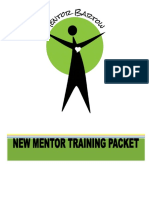 new mentor training packet