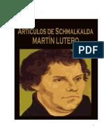 Artículos de Schmalkalda - Martín Lutero