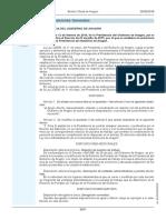 Decreto Modificación Estructura Orgánica Presiencia Aragón