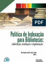 Politicas de Indexacao  Para Bibliotecas