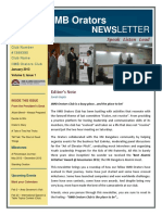 IIMBOrators Newsletter 2013 January