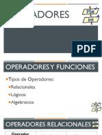 Pseudocódigo(2)_Operadores y Funciones