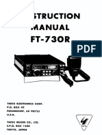 Yaesu FT-767GX Technical Supplement Service Manual