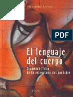 El Lenguaje Del Cuerpo %5bAlexander Lowen%5d