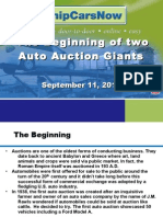 The Beggining of Two Auto Auction Giants