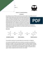 Práctica 10 - Isomería Geométrica