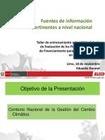 Presentacion MINAM - Eduardo Durand