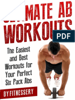 Fitnessery Ultimate Ab Workouts E-book