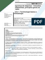 NBR 213 - Seguranca de maquinas - Conceitos fundamentais principios gerais de projeto - Parte 1 T.pdf