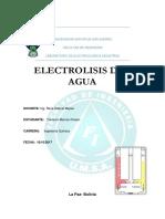 4 Electrolisis Del Agua