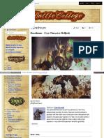Battlecollege - Barathrum – Cryx Character Helljack