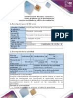 Guía de Actividades y Rúbrica de Evaluación - Fase 2 - Realizar La Actividad Propuesta Estudio de Caso