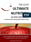 Elite Nutrition Guide Book