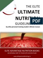 Elite Nutrition Guide Book