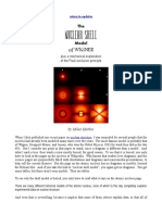 The NUCLEAR SHELL Model of WIGNER plus a mechanical explanation of the Pauli exclusion principle