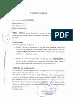 Resolución de la Primera Sala Penal de Apelaciones Nacional que desestima solicitud de Keiko Fujimori y su esposo Mark Vito Villanela para concluir investigación por lavado de activos