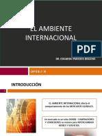 Cap VI.- El Ambiente Internacional