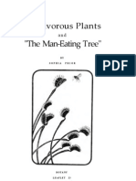 Carnivorous Plants and the Man-Eating Tree