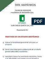 Geotecnia Clase 01