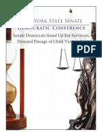Senate Democrats Stand Up For Survivors, Demand Passage of Child Victims Act