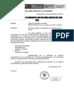 Brinda Charla y Capacitacion Nivel Inicial, Primaria, Secundaria