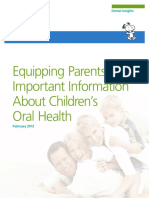 Parental Oral Health Literacy