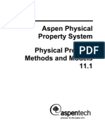 Physical Property Methods and Models