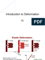 Introduction to Deformation