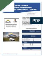 Ficha Técnica Cemento Chimborazo He